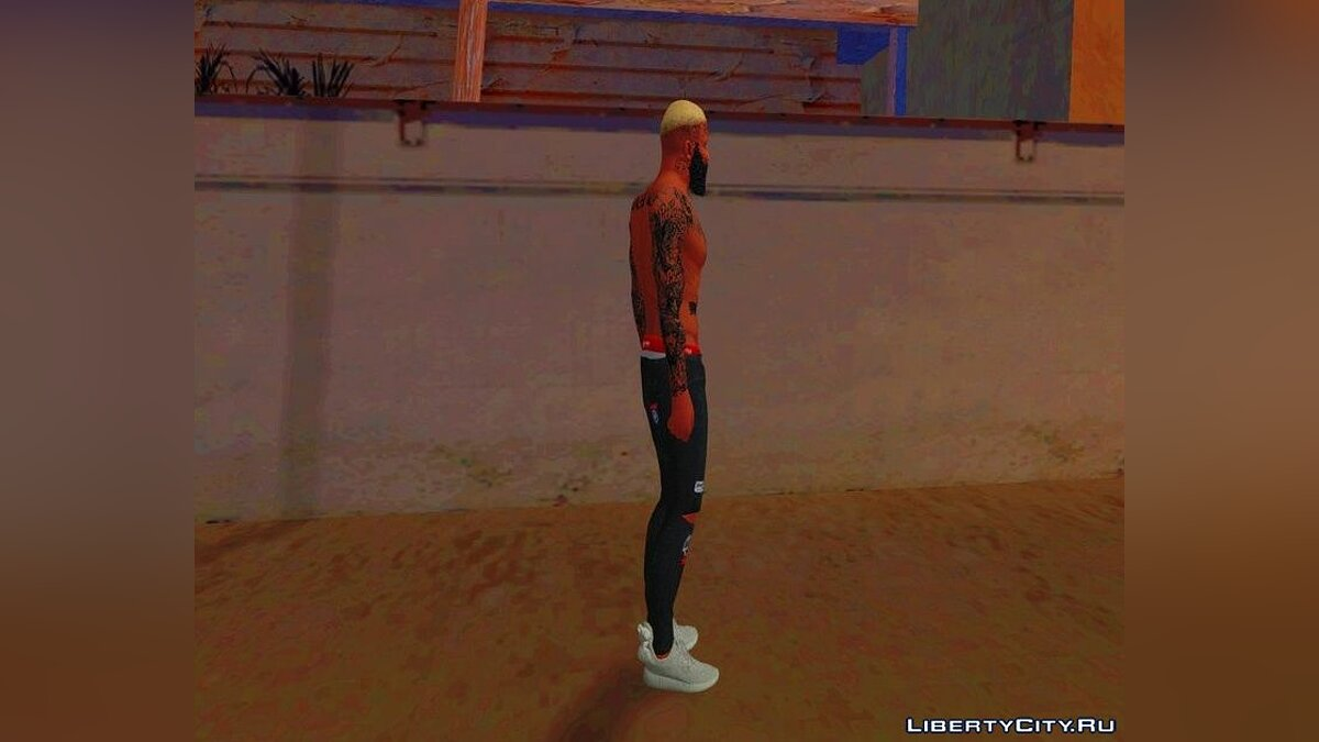 Boots Adidas Yeezy 350 Sneakers for Franklin for GTA San Andreas