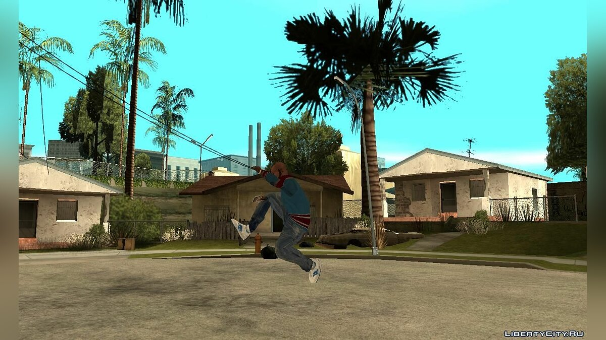 Boots Sneakers Saucony for GTA San Andreas