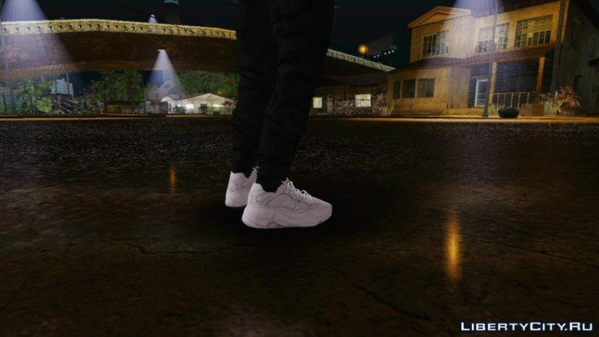 Boots Pak sneaker Yeezy for GTA San Andreas