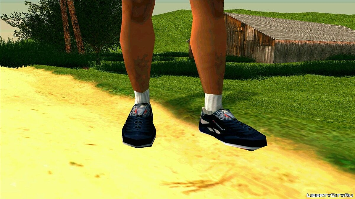 Boots -Reebok Classic Leather. for GTA San Andreas