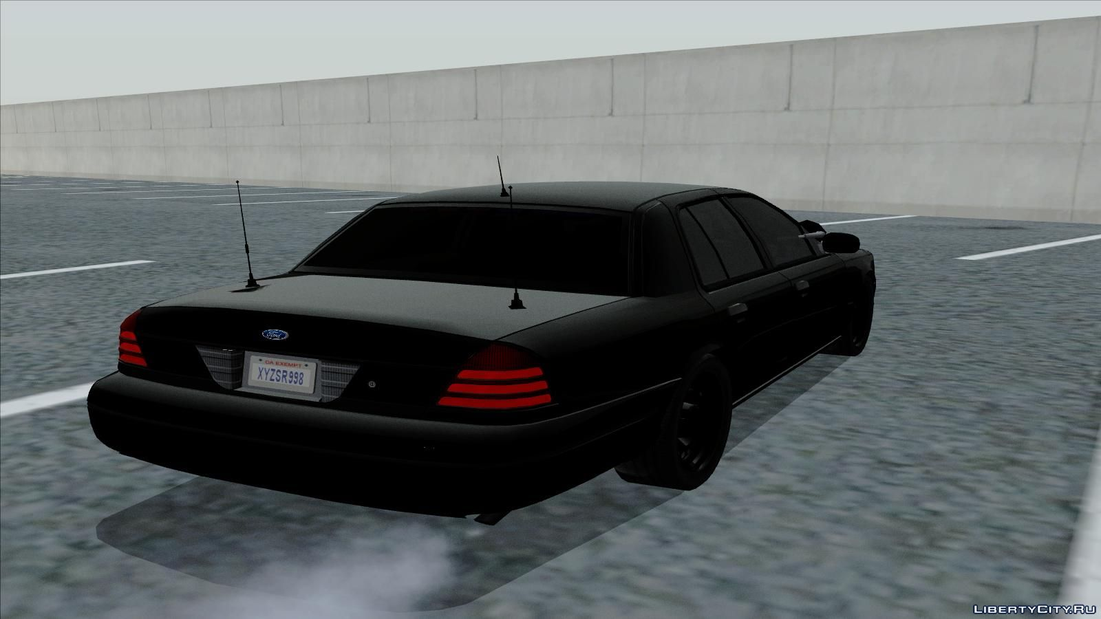 Ford Crown Victoria Unmarked For Gta San Andreas Screenshot