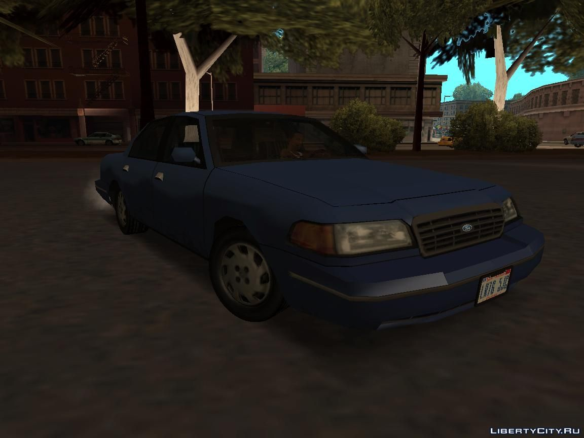 Ford Crown Victoria Low Poly For Gta San Andreas Screenshot