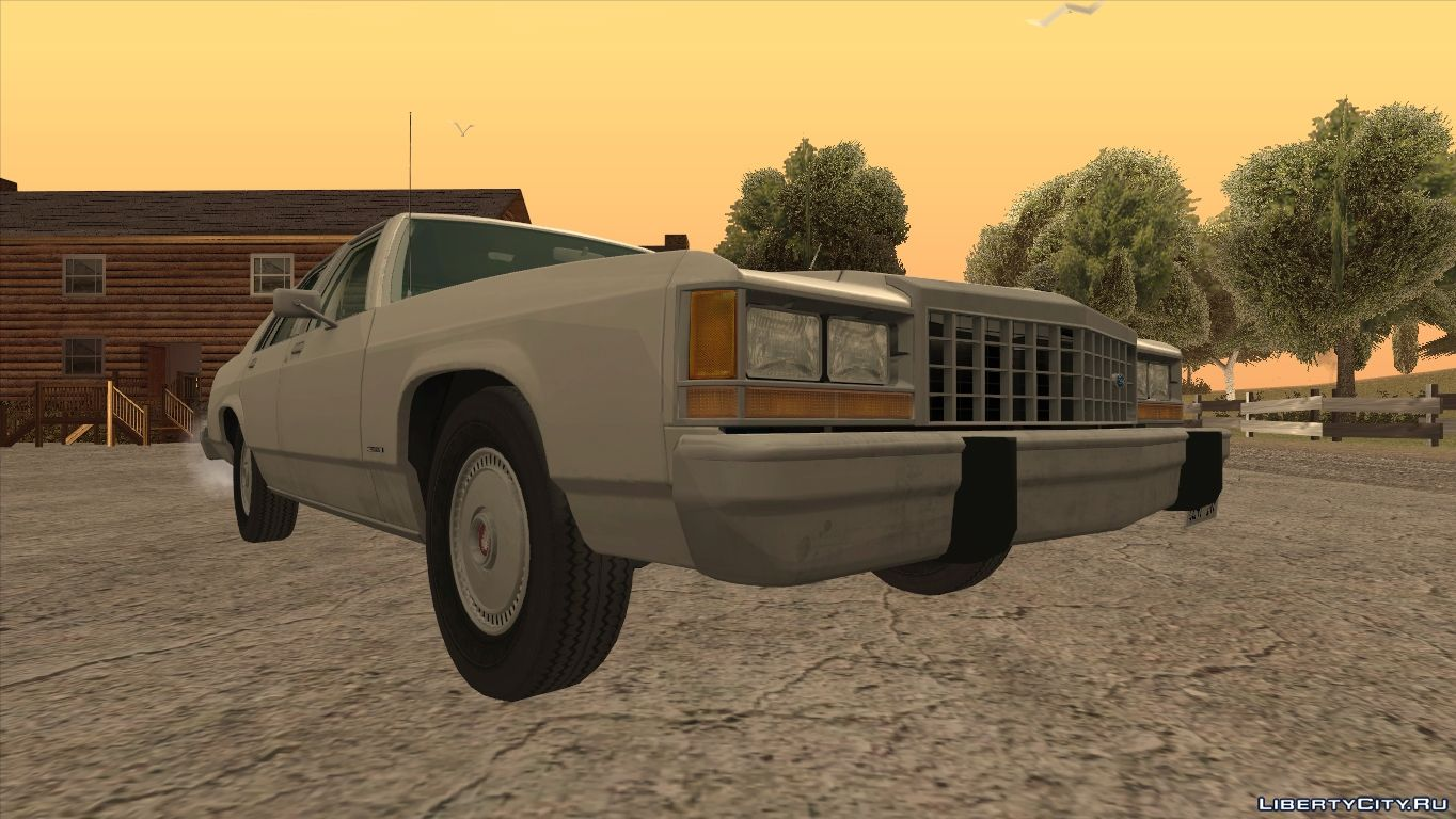 Ford For Gta San Andreas From Dimikvrn 4 1980 Crown Victoria Coupe Car Ltd 1987