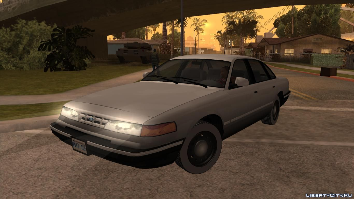 Replacement Of Premiertxd In Gta San Andreas 169 File 1995 Ford Crown Victoria Car For