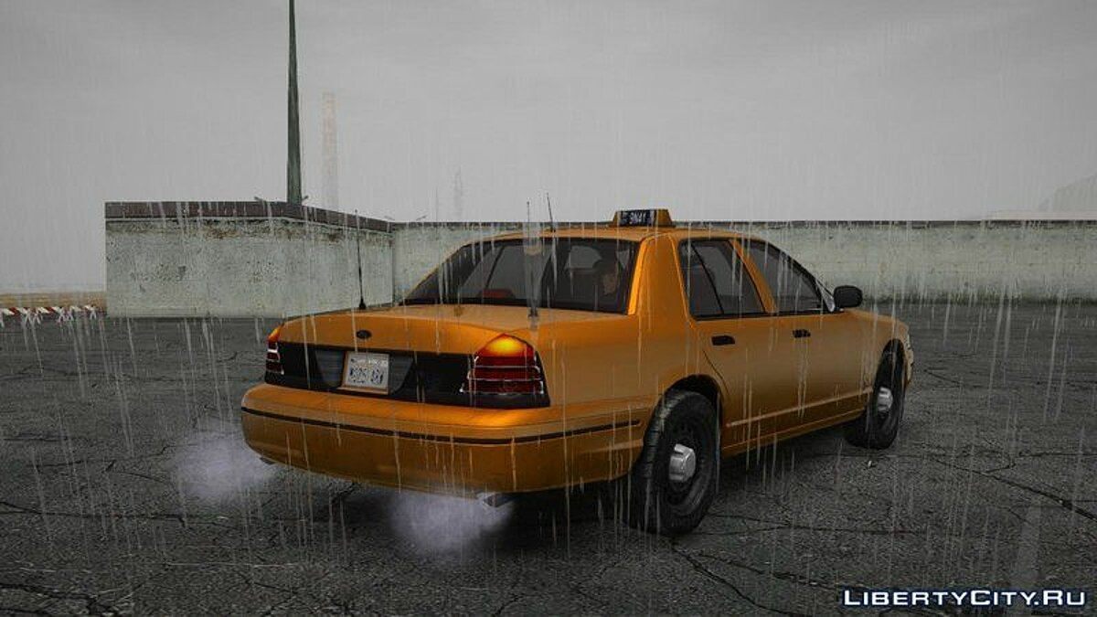 Ford car Ford Crown Victoria Taxi for GTA San Andreas