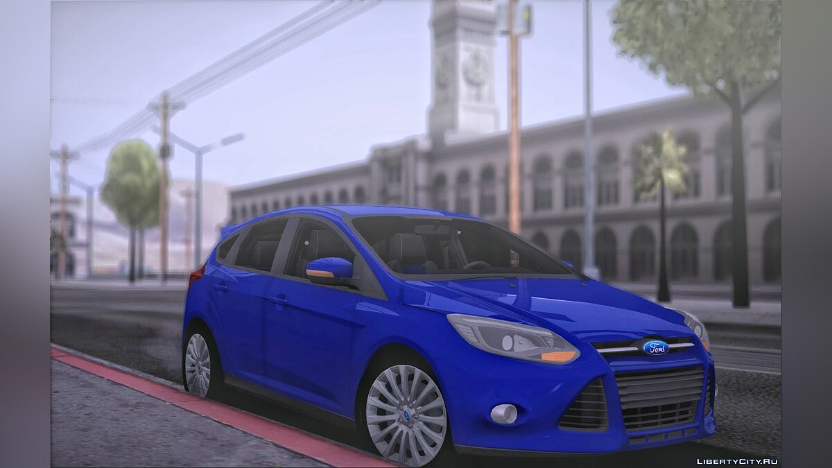 Ford car Ford Focus Hatchback for GTA San Andreas