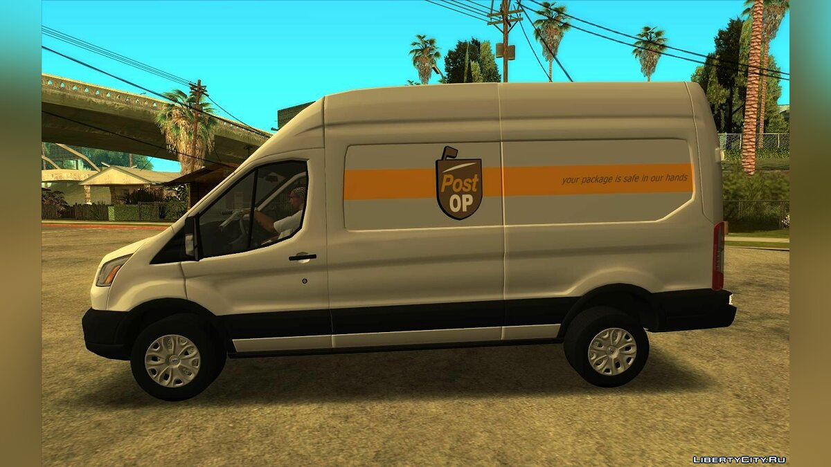 Ford car 2016 Ford Transit Post Op for GTA San Andreas