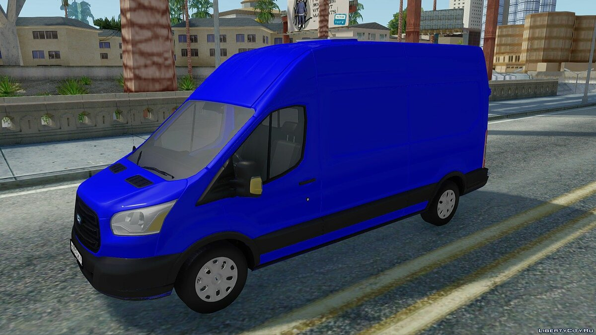 Ford car Ford Transit 2016 for GTA San Andreas