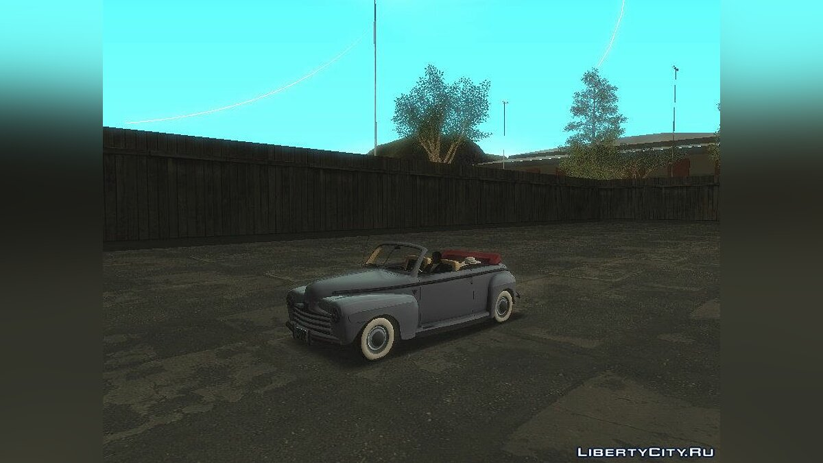 Ford car Ford Coupe Convertible 1946 for GTA San Andreas