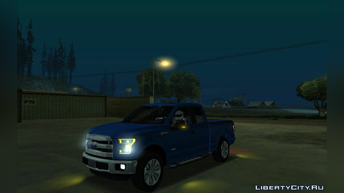 Ford car Ford F150 2017 for GTA San Andreas