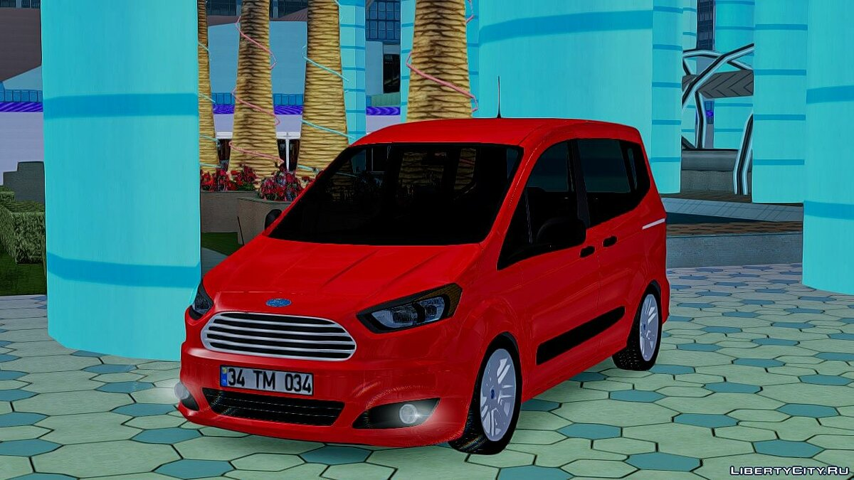 Ford car Ford Tourneo Courier for GTA San Andreas
