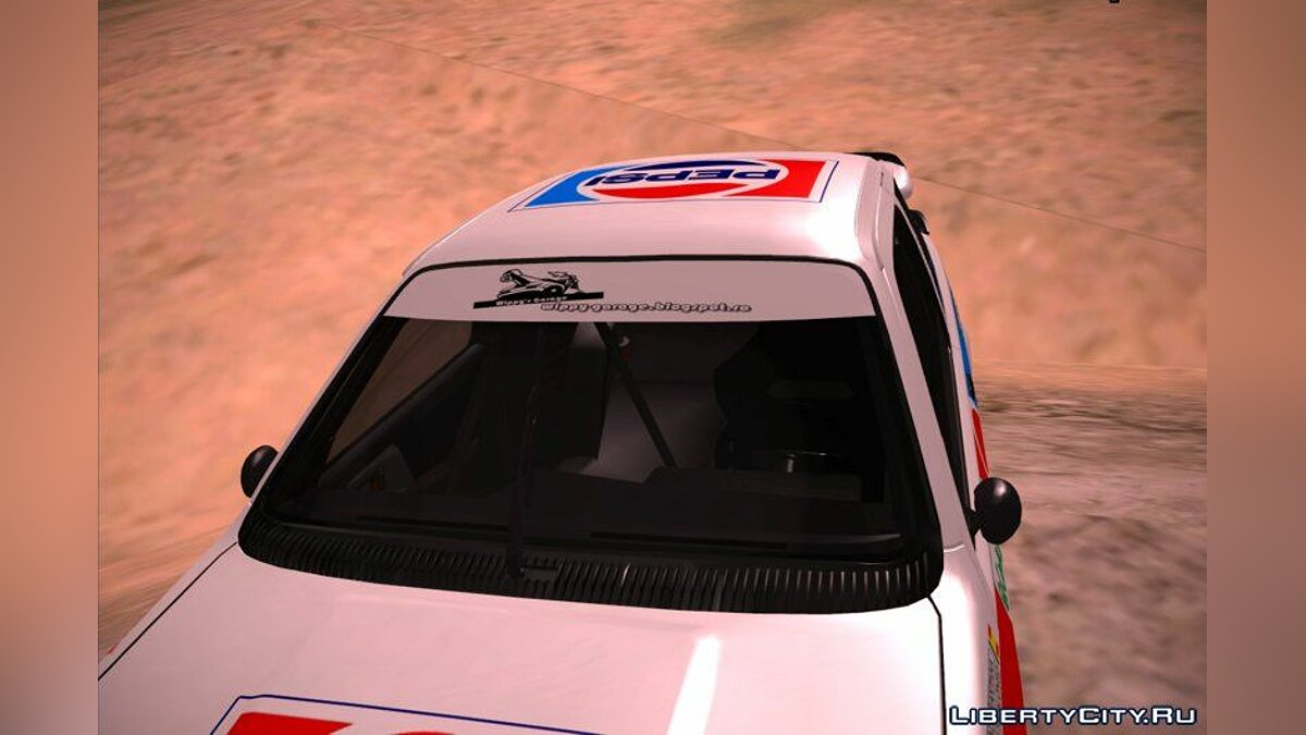 Ford car 1986 Ford Sierra RS Cosworth - Pepsi Edition for GTA San Andreas
