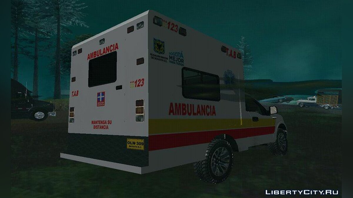 Ford car FORD F150 (ambulancia de bogota) for GTA San Andreas