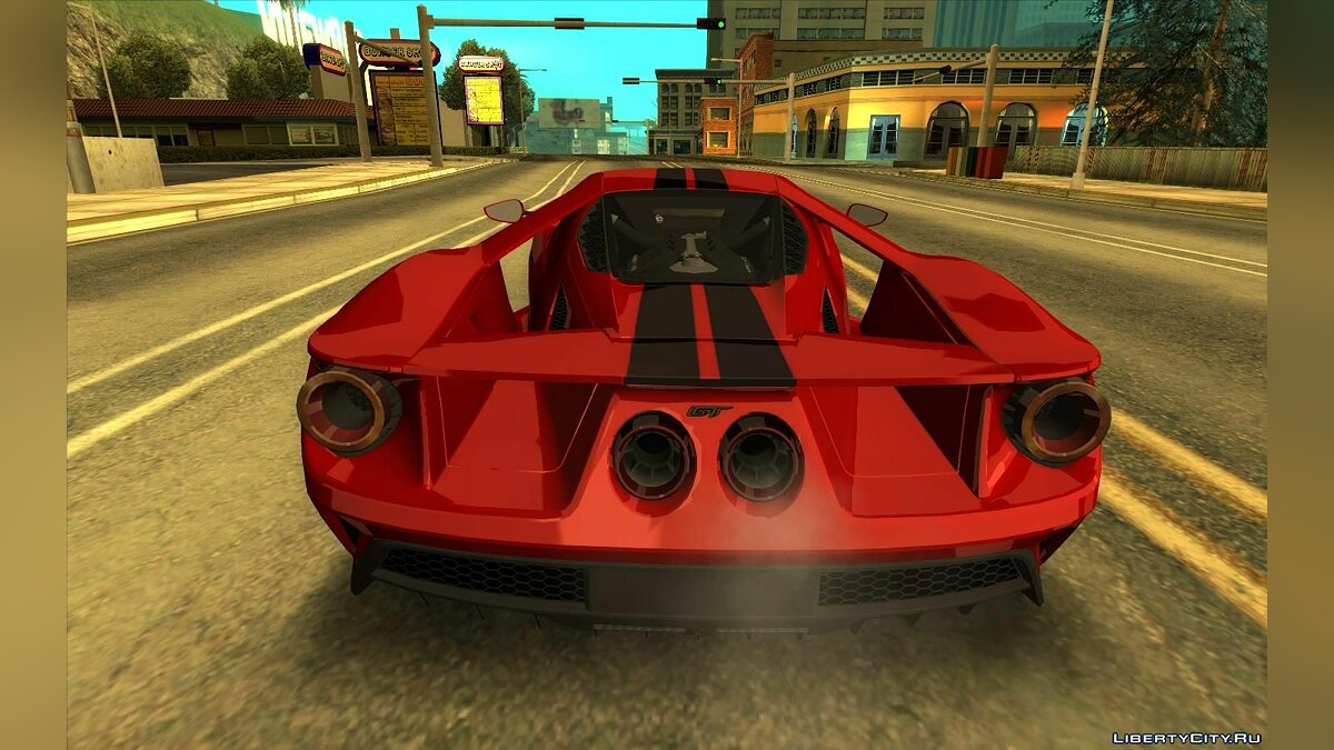 Ford car Ford gt for GTA San Andreas