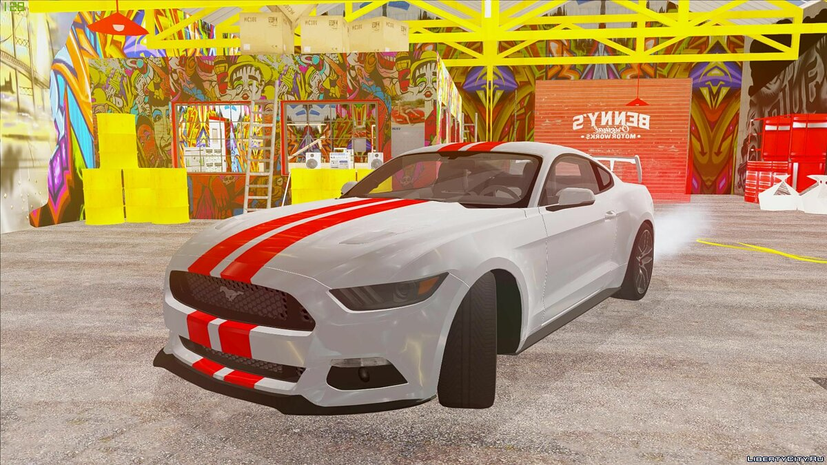 Ford car Ford Mustang GT by 3dCarbon 2014 for GTA San Andreas