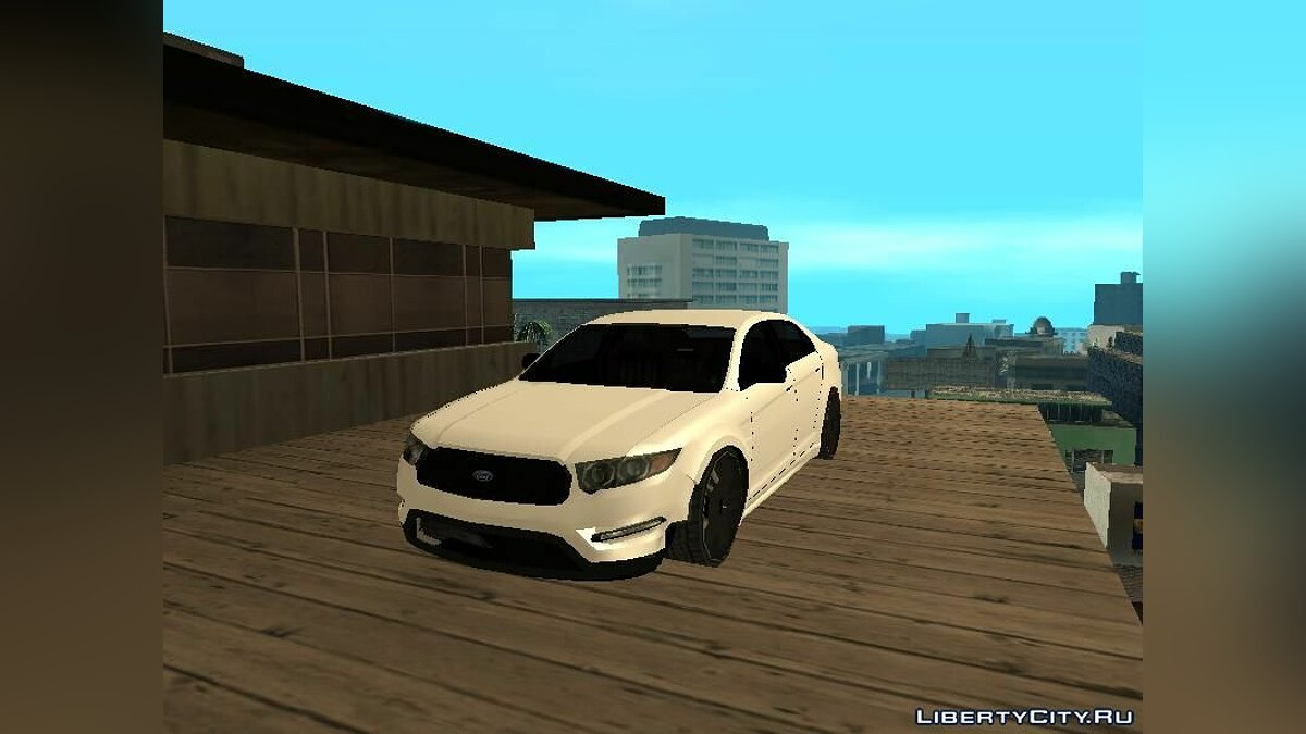 Ford car Ford Taurus in the style of GTA 5 for GTA San Andreas