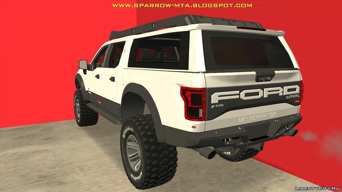 Ford car FORD RAPTOR for GTA San Andreas