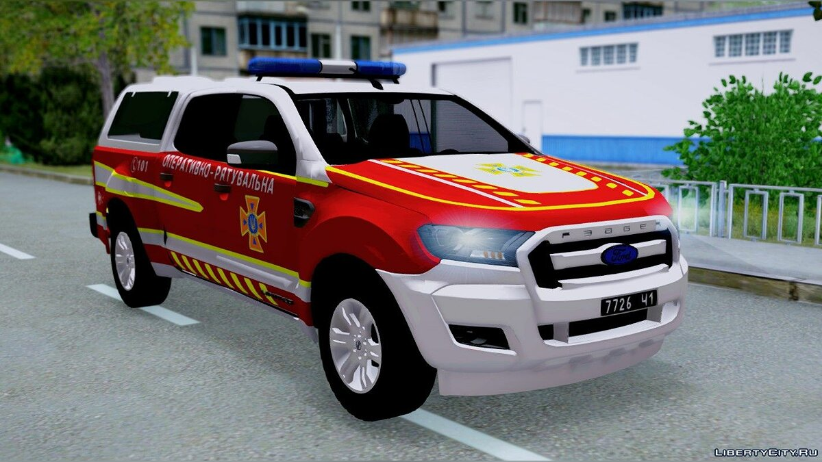 Ford car Ford Ranger DSNS of Ukraine for GTA San Andreas