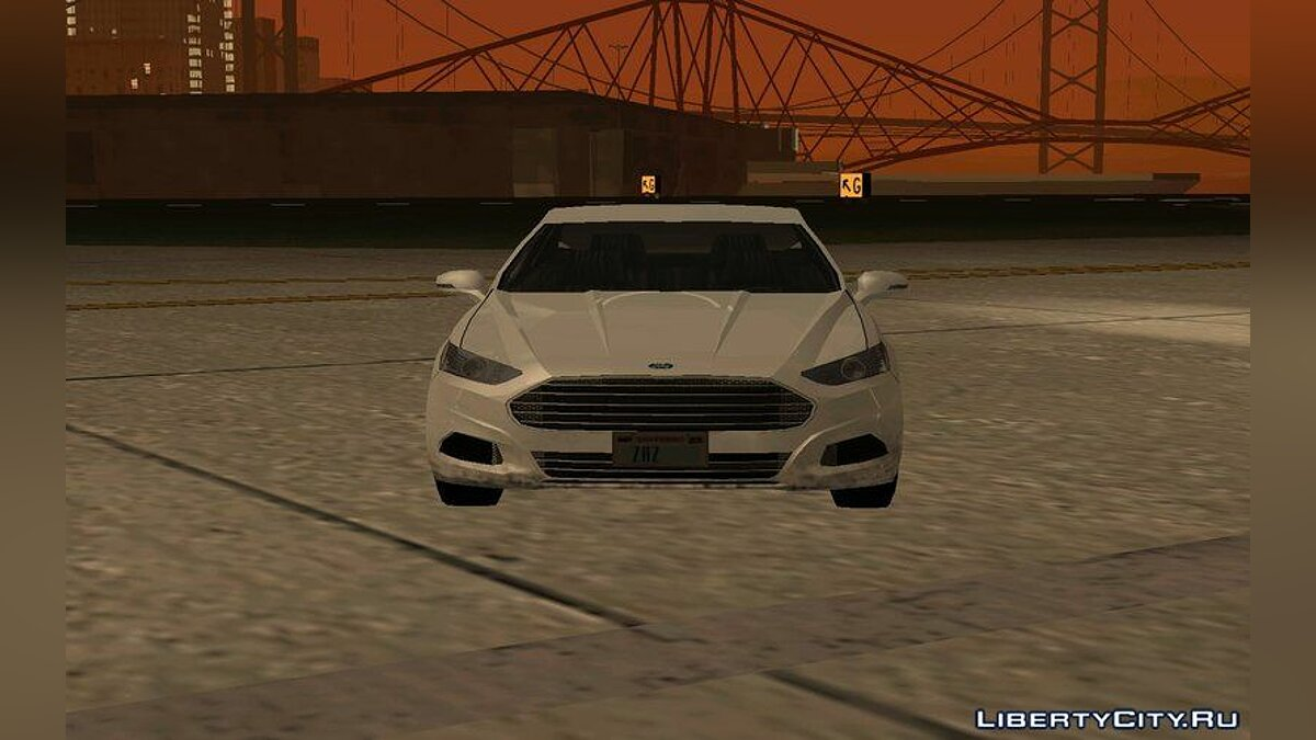 Ford car Ford Fusion 2016 - Machine for the weak PC for GTA San Andreas