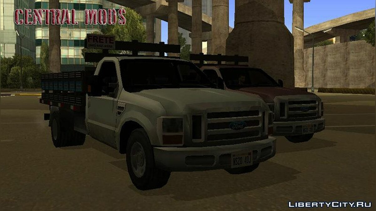 Ford car Virgo - Ford F4000 for GTA San Andreas
