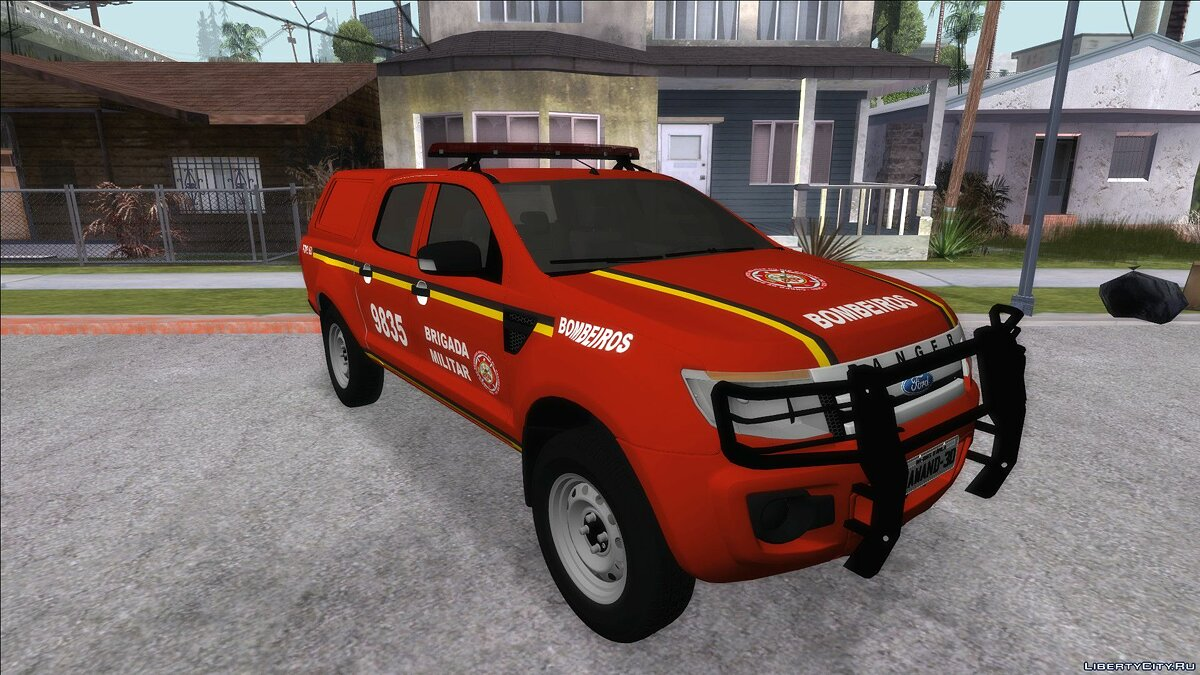 Ford car Ford Ranger Brazilian Police for GTA San Andreas