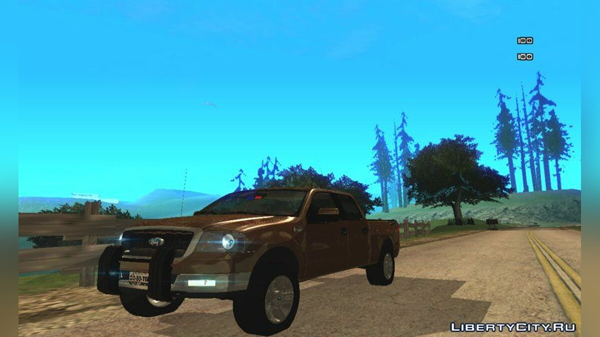 Ford car Ford F150 2008 for GTA San Andreas