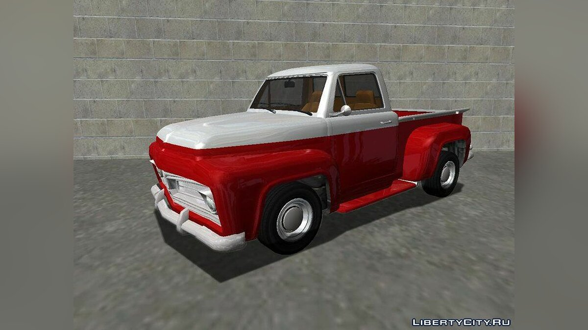 Ford car 1954 Ford F-100 Deluxe Pickup (Slamvan style) v1.0 for GTA San Andreas