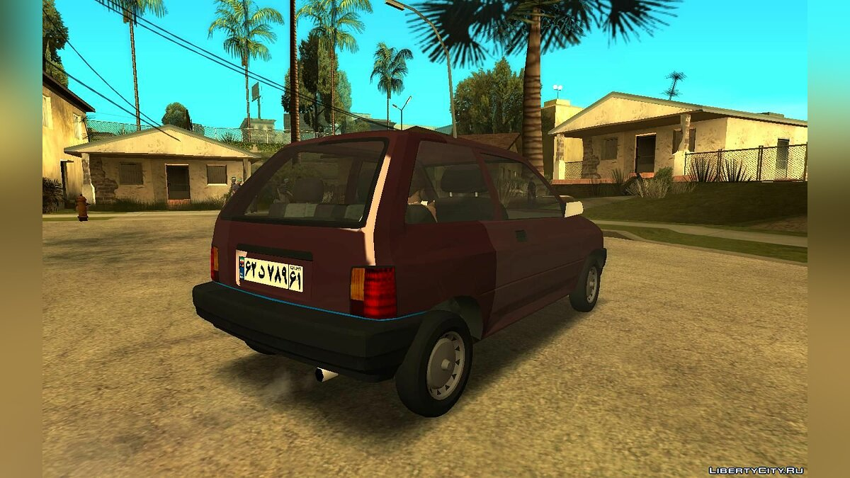 Ford car Ford Festiva 1987 for GTA San Andreas