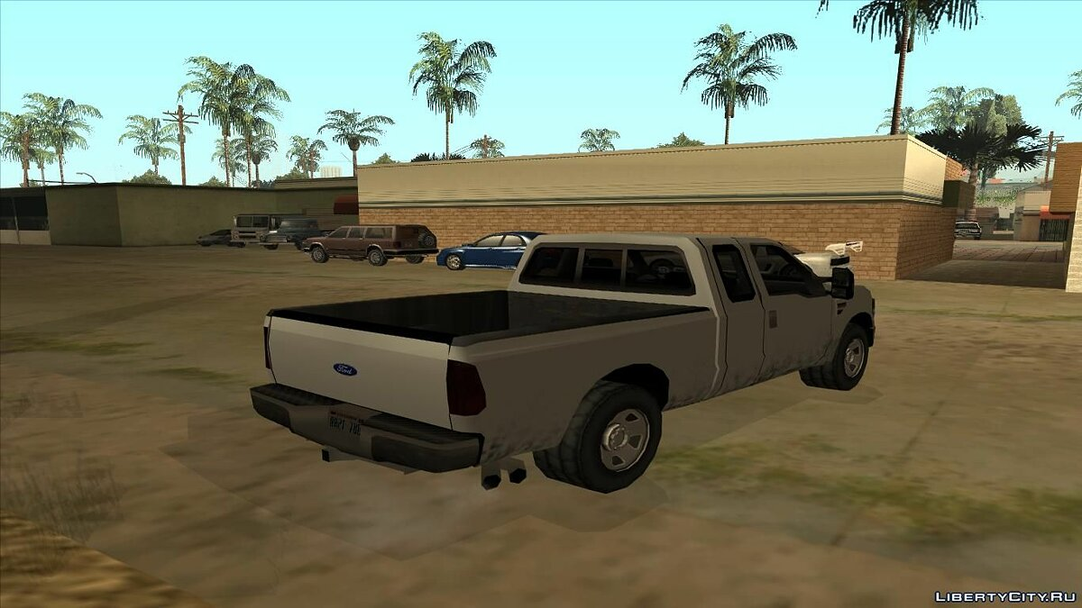 Ford car Ford F250 Super Duty 2010 lowpoly for GTA San Andreas