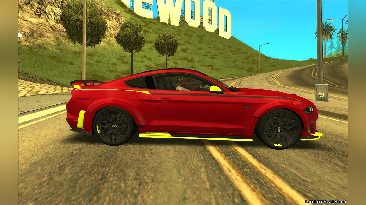 Ford car Ford Mustang RTR Spec 5 2021 for GTA San Andreas