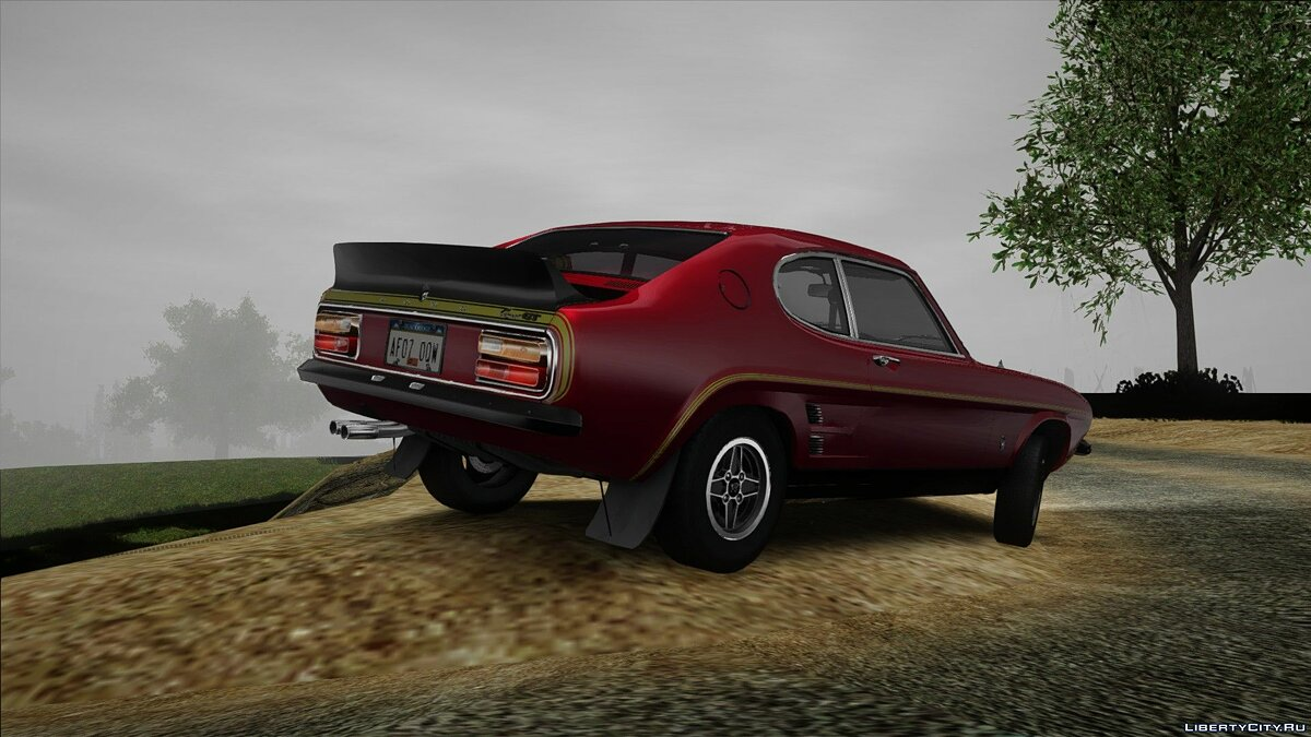 Ford car Ford Capri RS3100 1973 for GTA San Andreas