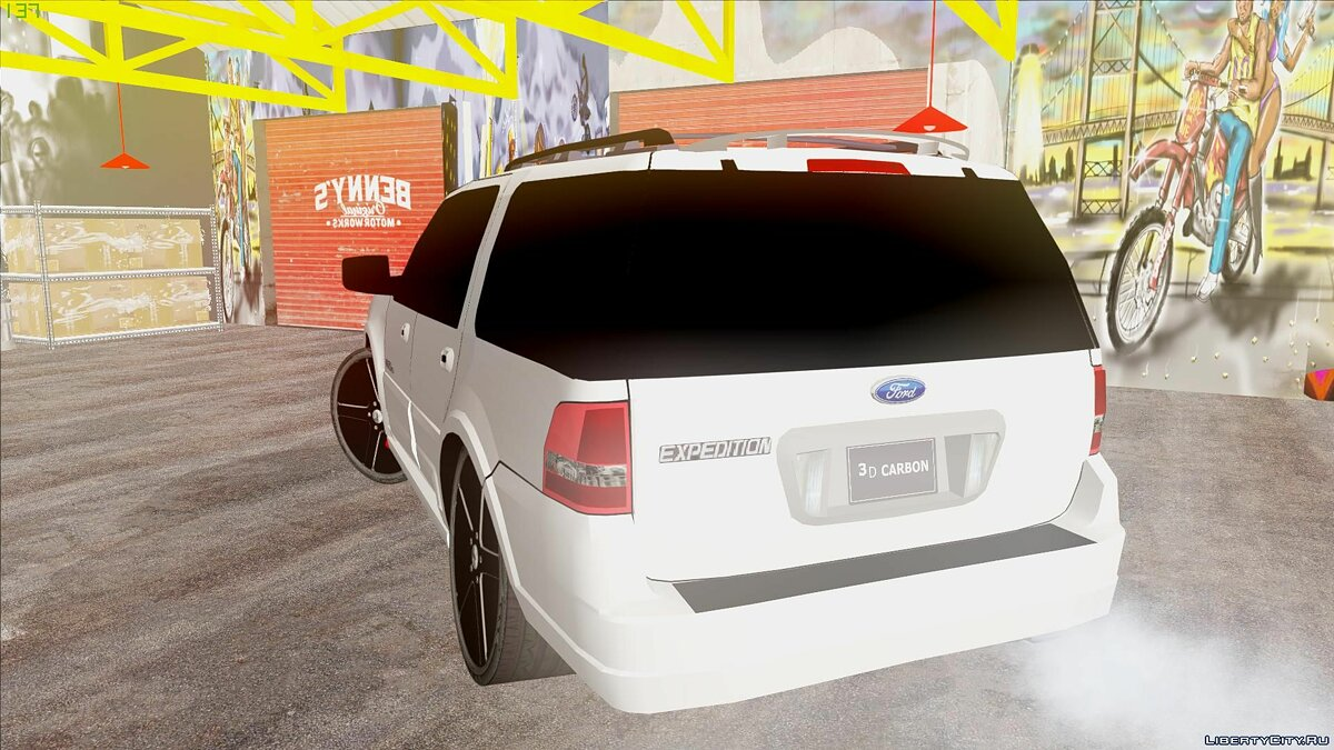 Ford car Ford Expedition Urban Rider Styling Kit by 3dCarbon 2008 for GTA San Andreas