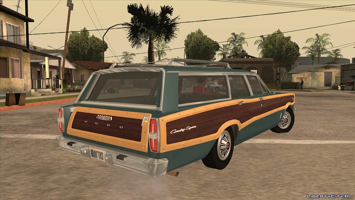 Ford car Ford Country Squire 1966 for GTA San Andreas