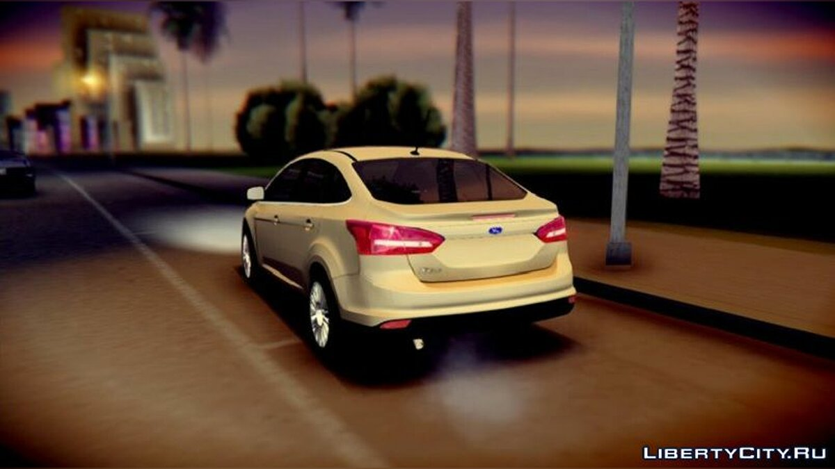 Ford car Ford Focus 2015 Sedan for GTA San Andreas