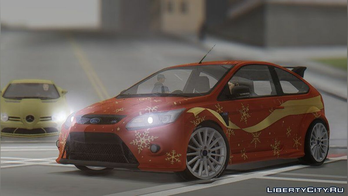 Ford car 2010 Ford Focus RS for GTA San Andreas