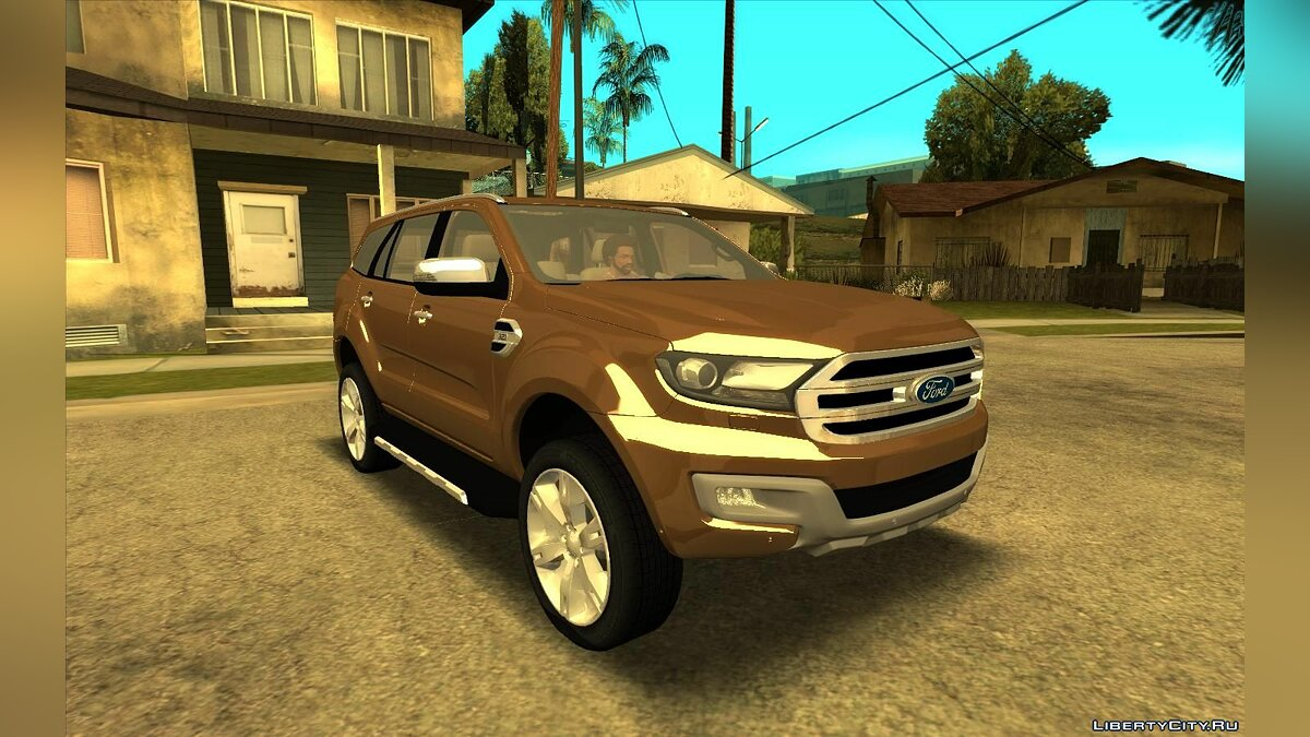 Ford car Ford Everest 2017 for GTA San Andreas