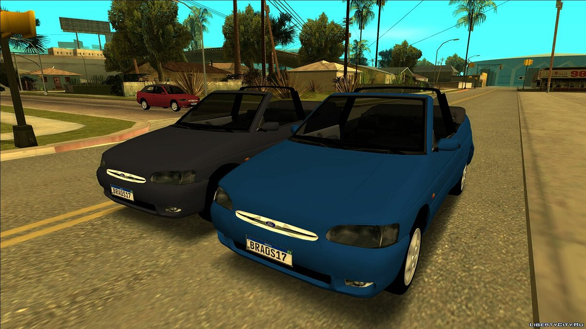 Ford car Ford Escort Zetec 1998 Cabriolet for GTA San Andreas