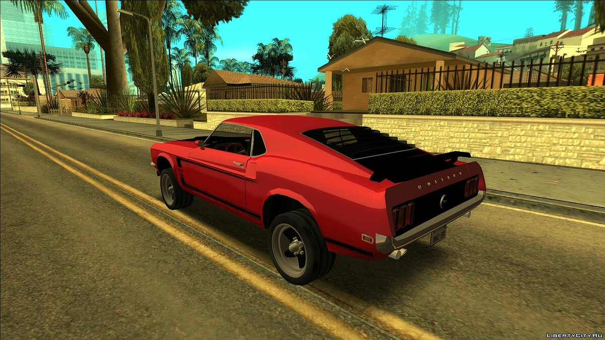 Ford car Mustang Boss 302 1969 for GTA San Andreas