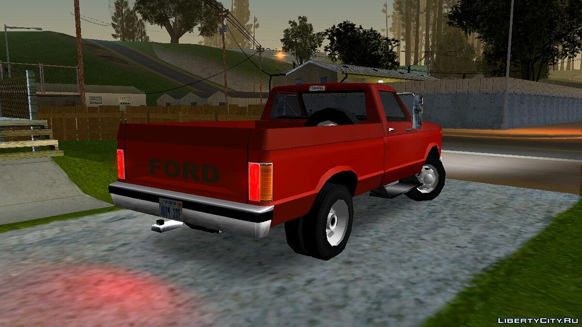 Ford car Ford F-150 1980 for GTA San Andreas