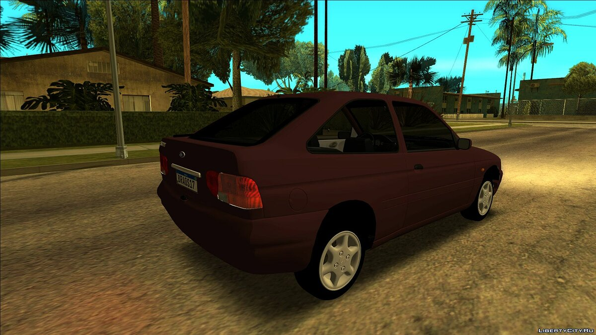 Ford car Ford Escort Zetec 1998 2-door version for GTA San Andreas