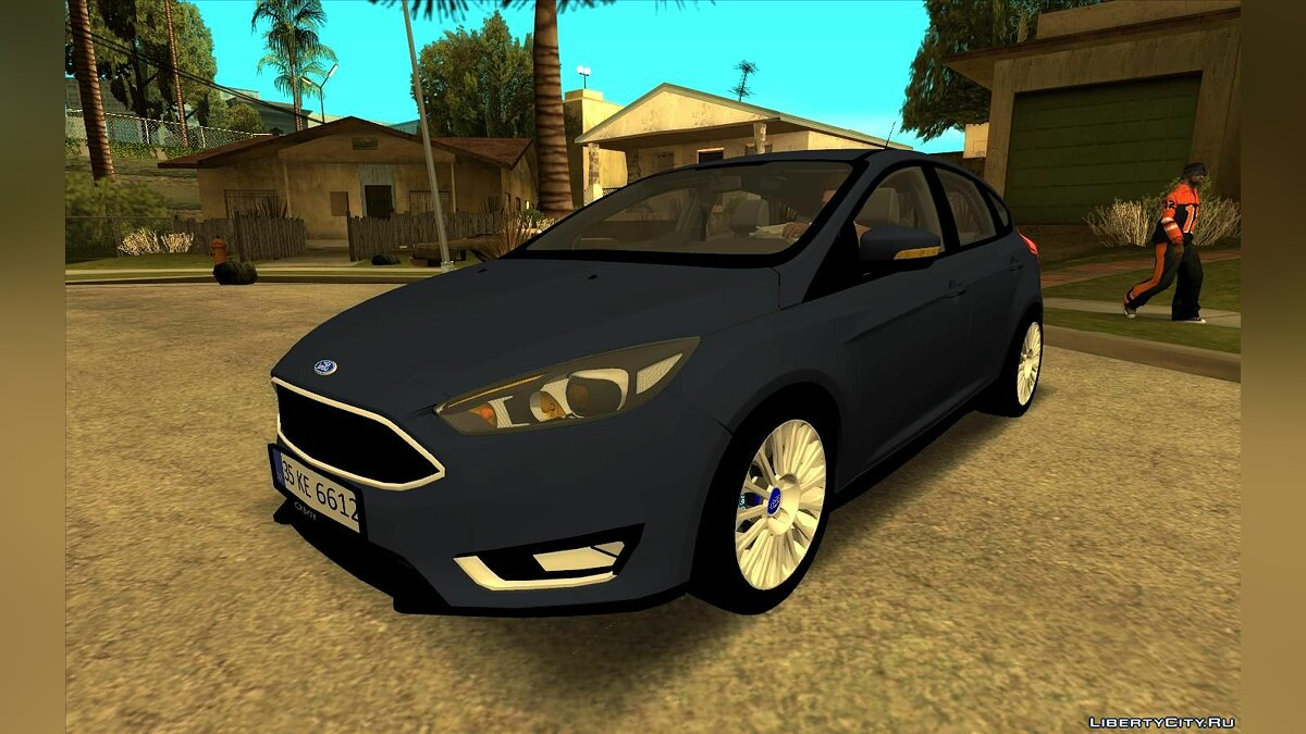 Ford car Ford Focus 2015 HB for GTA San Andreas