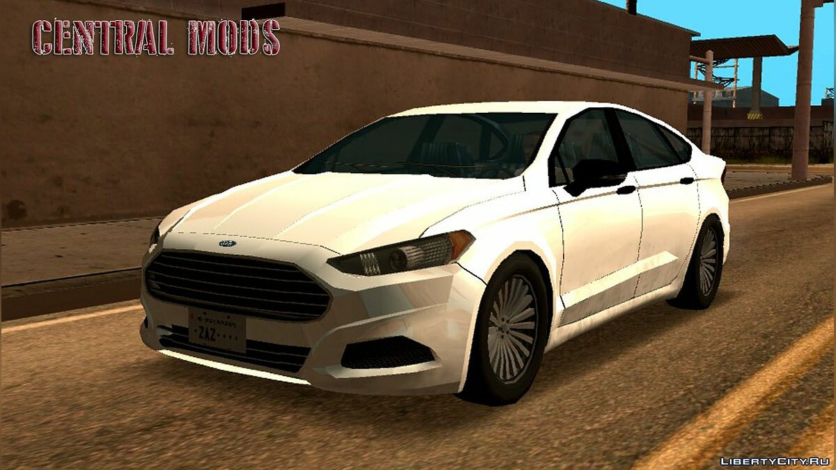 Ford car 2015 Ford Fusion for GTA San Andreas