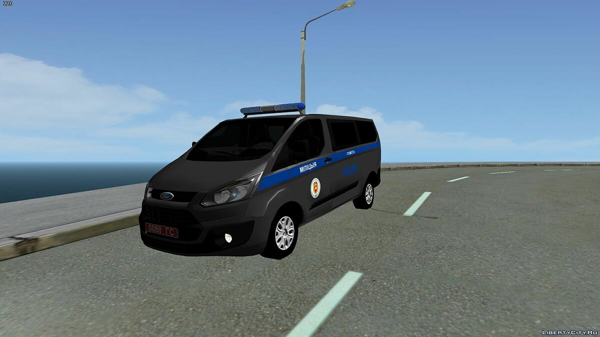 Ford car Ford Transit 16 Custom - Operational Duty Service of the Ministry of Internal Affairs of the Republic of Belarus for GTA San Andreas