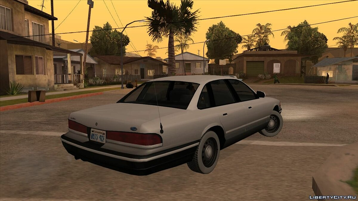 Ford car Ford Crown Victoria 1995 for GTA San Andreas