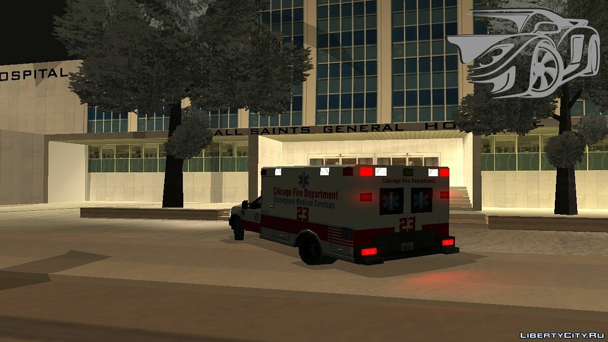 Ford car Ford F-250 Chicago Ambulance [EML] for GTA San Andreas