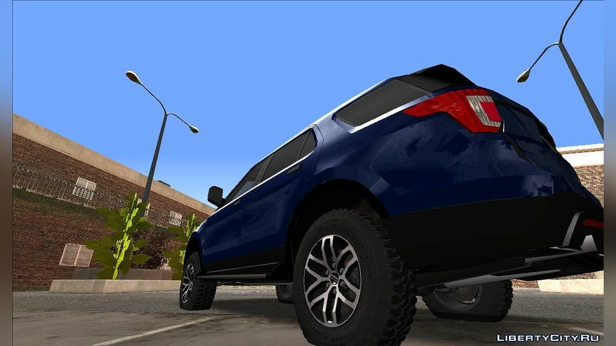 Ford car Ford Explorer 2019 for GTA San Andreas