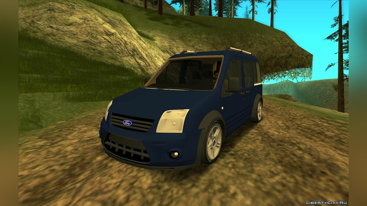 Ford car Ford Tourneo Connect 2012 for GTA San Andreas