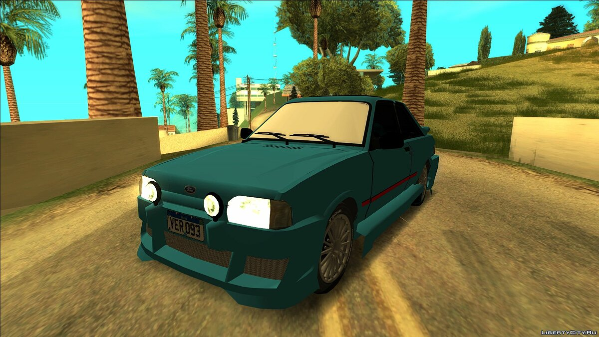 Ford car Ford Escort XR3 Tuning 1992 for GTA San Andreas