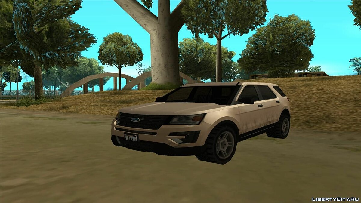 Ford car Ford Explorer 2016 for GTA San Andreas