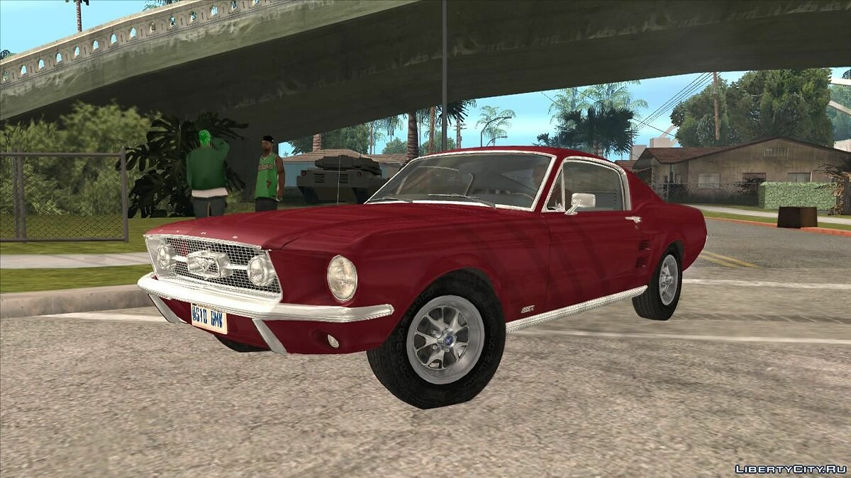Ford car Ford Mustang Fastback 1967 for GTA San Andreas